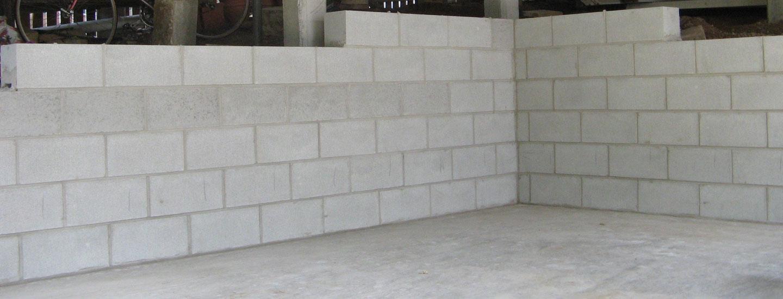 Retaining Walls Glenn Palframan House Restumping